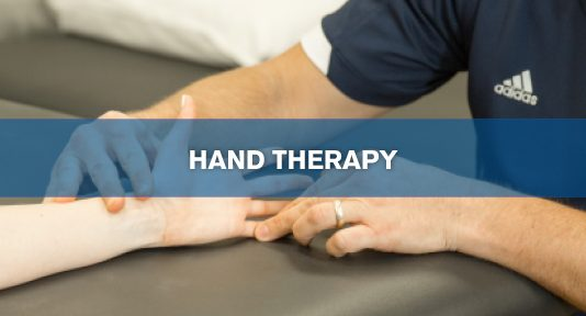 More Facts About Hand Therapy